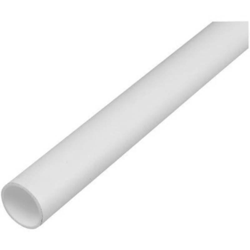 White bartol waste pipe 32mm mccarthys fuels for Plastic plumbing pipes